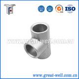 Pièces de bâti en acier d'OEM pour le matériel de tuyauterie