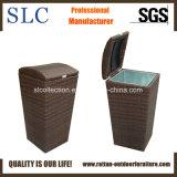 Casella di vimini dei rifiuti della casella/rattan dei rifiuti/casella esterna dei rifiuti del rattan (SC-8045)