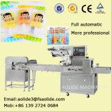 Prezzo automatico dell'attrezzatura per imballaggio del Popsicle del lecca lecca di ghiaccio di flusso del cuscino della fabbrica