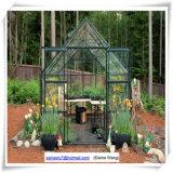 폴리탄산염 알루미늄 프레임 정원 녹색 집