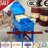Máquina de proceso portable del petróleo de la máquina de la filtración del petróleo del papel de filtro