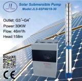 водяная помпа глубокого добра 6sp46-18 центробежная солнечная