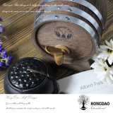 Barril de madera quemado aduana del color de Hongdao para el almacenaje o Decoration_L del vino