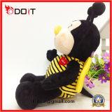 Brinquedo feito sob encomenda enchido costume do luxuoso da abelha do animal enchido da abelha
