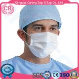 Maschera di protezione a gettare medica 3ply