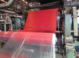 Résistance à la traction élevée et à la déchirure Industrie minière à faible abrasion Feuille de caoutchouc naturel rouge