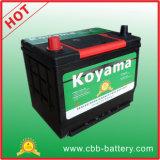 Batterie de voiture scellée par 60ah de batterie de véhicule de Mf de qualité 55D26R-MF