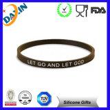 Concevoir le bracelet en fonction du client de silicone de sport de gymnastique pour les hommes
