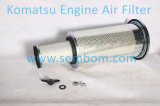 Filtre à air d'engine de haute performance pour l'excavatrice/chargeur/bouteur de KOMATSU