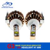 高品質の工場価格の6000k自動車部品G3 H1 60W 3200 Lmのクリー族LEDのヘッドライト
