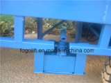Bacino di caricamento mobile resistente della rampa del contenitore usato