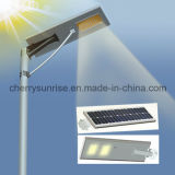 Luz Integrated da estrada da potência solar de sensor de movimento da energia solar para a luz de rua