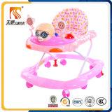 Caminhante plástico simples do bebê de Hebei de 8 rodas para a venda