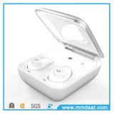 2017 de Koelste Nieuwe Onzichtbare Mini Dubbele Hoofdtelefoon van Bluetooth van de Muziek