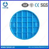 Coperchio di botola blu di alta qualità di colore con il blocco per grafici