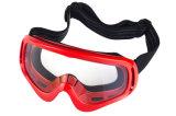 Arracher les lunettes de casques de moto avec la bande principale élastique