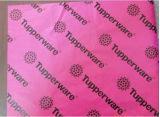 Papel de impressão de tecido de impressão preto para sapatos / Garment / Gift Packaging