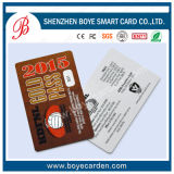 Bereifte Geschäfts-Mitgliedskarte mit magnetischem Streifen