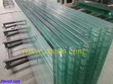 Mur rideau en verre de flotteur de construction Tempered bon marché en gros de balcon