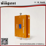 25dBm 1000m2 Dcs/WCDMA 3G 4G 1800/2100MHzのアンテナが付いている移動式シグナルの中継器