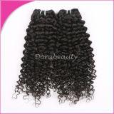 Cheveux humains d'usine de la vente en gros 100% de cheveux indiens non-traités directs de Vierge
