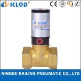 Q22HD-35 2/2 Afsluitklep van het Messing van het Type van Zuiger van de Manier de Materiële Pneumatische