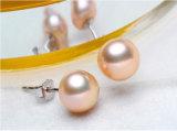 Heet verkoop de Juwelen van de Parel plaatsen AMERIKAANSE CLUB VAN AUTOMOBILISTEN 925 van de Rijst van 78mm de Zilveren Reeks van de Parel van de Halsband