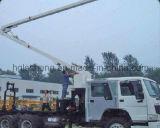 Camion dei vigili del fuoco della gru del camion Jp25 che di sollevamento il pilone di acqua del meccanismo