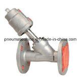 Válvula do assento do ângulo de China pneumática de China Pneumission