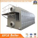 Doppelter Trommel-Flocken-Ketten-Gitter-Industriekohle-abgefeuerter Dampfkessel