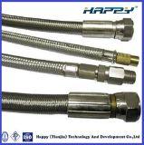 Nicht rostender umsponnener flexibler PTFE Bremsen-Schlauch