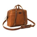 Gute Qualitätsmann-Laptop-Beutel-Leder-Kurier-Beutel für das Geschäfts-Reisen