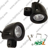 CE/RoHS/IP67 Auto DEL Work Light 10W DEL Driving Light 10-30V DEL Drivin Light pour Truck Auto Spot/Flood Light