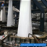 Tissu tubulaire tissé par pp en gros de blanc en roulis