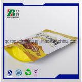 Fastfood- Plastikbeutel mit Reißverschluss