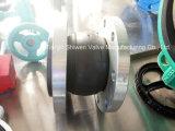 Joints de dilatation en caoutchouc de sphère simple flexible avec la bride