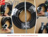 2sn油圧ゴム製ホースの適用範囲が広いゴム波形のホース