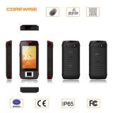 smartphone raboteux de 4G Lte avec le 2D scanner de code barres et détecteur d'empreinte digitale
