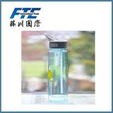BPA liberano la bottiglia di acqua dello spazio di Tritan con la maniglia & Noozle