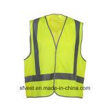 100% poliéster Tricot Equipo de Seguridad Vial con cinta reflectora de protección del chaleco Austrial Diseño