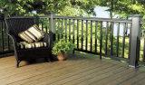 Co - Decking en bois composé extérieur du plancher WPC d'Eco d'extrusion