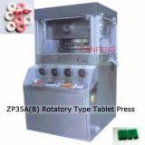 Prensa rotatoria Zp35A/Zp35b de la tablilla