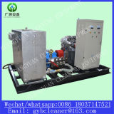 Sistema industriale ad alta pressione di pulizia del tubo del sistema di pulizia