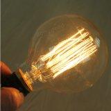 G80 bombilla retra de Edison del globo incandescente del bulbo E27 40W 220V