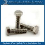 Silberne überzogene legierter Stahl-Hexagon-Schraubbolzen
