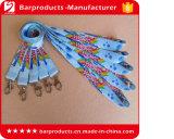 Kundenspezifische Wärmeübertragung-Drucken-Polyester-Abzuglinie mit verschiedenem Haken