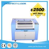 Precio de papel de madera de cuero de la cortadora del grabado del laser del CO2 con Ce