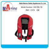 150n CCS / Ec Aprovado Marine Mountain Inflatable Life Jacket