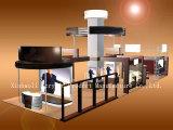 Ensemble convenable de présentoir de support de vêtement de magasin d'acrylique (XBLC034)