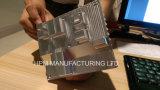 Aluminium de fraisage de usinage personnalisé de commande numérique par ordinateur de radiateur solide de bloc